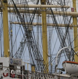 """Żaglowiec """"Dar Pomorza"""" w Gdyni'Dar Pomorza' (Gift of the Pomerania Region')Segelschiff """"Geschenk von Pommern"""" (""""Dar Pomorza"""")"""
